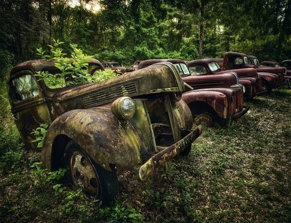 9783961712588 Lost wheels The Nostalgic Beauty of Abandoned Cars, Dieter Klein