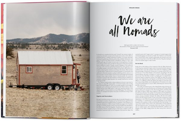 9783836562331 Nomadic Homes. Architecture on the move