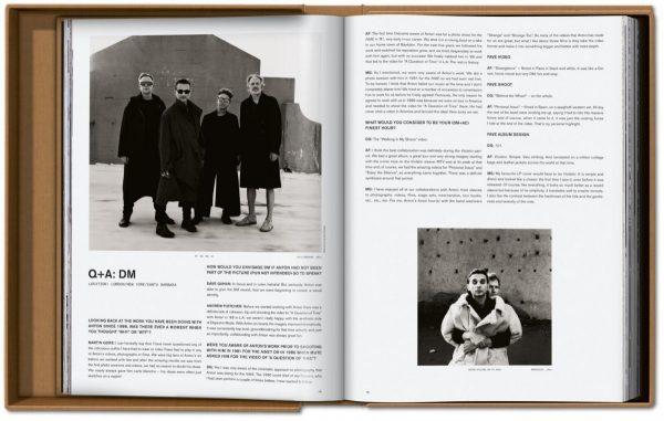 9783836571975 Depeche Mode by Anton Corbijn