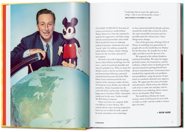 9783836580991 Walt Disney's Mickey Mouse. The Ultimate History. 40th Anniversary Edition