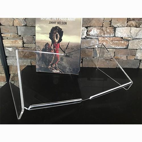 8717953273833 Boekenstandaard Perspex Transparant Design Groot