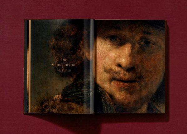 9783836577007 Rembrandt. The Self-Portraits